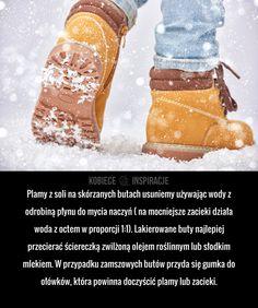 Jak dbać o BUTY w zimie?