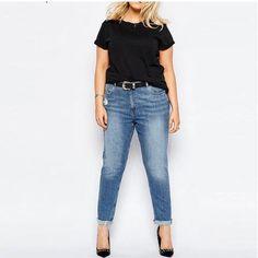 Calça Jeans Skinny Plus Size Tamanhos 3XL a 6XL