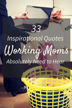 Sometimes us working mom's need a little extra motivation. I've collected 33 of the best inspirational quotes by women to help get you through the day. via @onesmallword