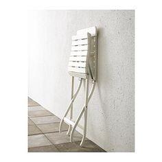 MÄLARÖ Folding chair - white - IKEA