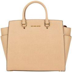 Michael Kors Leather Shoulder Satchel Saffiano Leathe Bag Purse Handbag Rose #MichaelKors #ShoulderBag