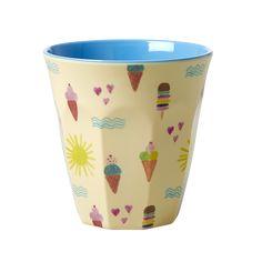 Summer Print Melamine Cup Rice DK - Vibrant Home