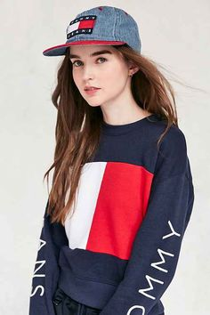 3482f069 Tommy Jeans For UO Club Baseball Hat - Urban Outfitters Looks Com Bone, Ali  Michael