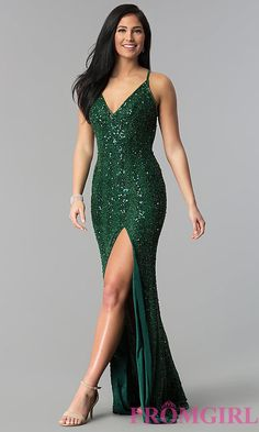 Evening Gowns Formal Dresses for Women Lace Dress – dearmshe Sparkly Prom Dresses, Gala Dresses, Green Sparkly Dress, Emerald Green Dresses, Quinceanera Dresses, Formal Dresses For Women, Elegant Dresses, Beautiful Dresses, Long Mermaid Dress