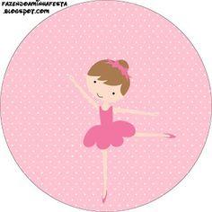 Kit Completo Bailarina Rosa!