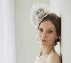 Christie Rose (antique grey), £115.00 #wedding #bridal #accessories #vintage #bride #headwear #fascinator www.hopeandgrace.co.uk Roses Antiques, Beautiful Bride, Silk Flowers, Bridal Accessories, Fascinator, Wedding Accessories
