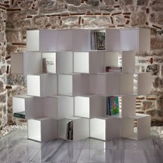 Expanded Modular Bookcases Suitable Narrow and Wide Room