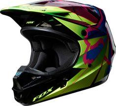 Fox - 2014 Holiday LE V1 Radeon Helmet