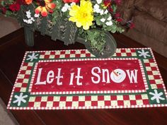 Let It Snow project on Craftsy.com