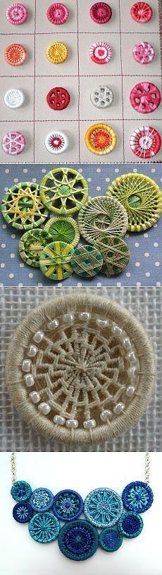 Знаменитые Dorset buttons: история, применение, технологии изготовления - Ярмарка Мастеров - ручная работа, handmade