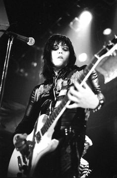Joan Jett - Not sure which year but it was early 80's at the Capitol Theatre in Passaic, N.J.