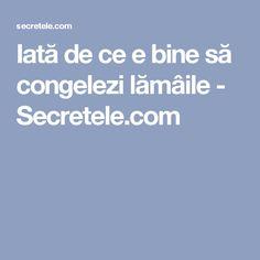 Iată de ce e bine să congelezi lămâile - Secretele.com