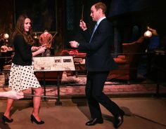 The Royal family visits the WB Studio Tour http://www.portkey.it/sito/2013/04/26/famiglia-reale/