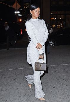 Rihanna at Philippe Chow's in NYC