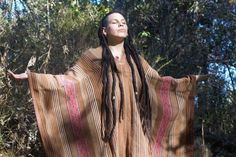 Authentic Vintage Alpaca Peruvian Poncho: Handwoven in the Andes Alpaca Poncho, Different Plants, Hand Weaving, Bring It On, Etsy, Vintage, Color, Style, Ponchos