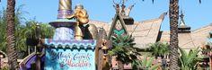 Volando por los aires en la Carpeta Mágica de Aladino - Secretos De La Florida - Información en Español sobre Disney World, Universal Studio...