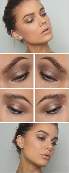 57 Trendy Bridal Makeup Natural Looks Linda Hallberg Makeup Goals, Makeup Inspo, Makeup Inspiration, Makeup Tips, Glowy Makeup, Natural Makeup, Hair Makeup, Linda Hallberg, Bridal Makeup