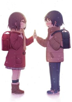 [Request] Erased, can someone make this a 1920 x Wallpaper Please 😀 Fujinuma Satoru y Hinazuki Kayo ~ Boku dake ga Inai Machi (Seinen, Psicológico, Sobrenatural, Anime Invierno Manga Anime, Anime In, Anime Kawaii, Anime Girls, Otaku Anime, Cosplay Anime, Anime Love, Vocaloid, Anime Disney