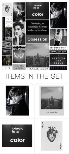 """""""Obsession // Kim Jongin AU (Short story)"""" by justananonymous ❤ liked on Polyvore featuring art"""