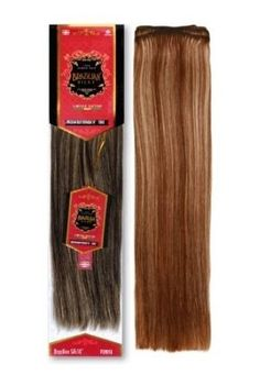 Brazillian Silky Straight Remy Hair Extensions 18 Inches #2 Dark Brown by Eve Hair. $65.00. Suitable for Weaving and  Micro Bead Weft Hair Extensions. Soft and Silky Machine Weft 4 ounces (1 pack). 18 Inches Brazillian Remy Silky Straight. Hair is double drawn and full strands are all equal length. 18 Inches Brazillian Remy Silky Straight   Available In Colors 2 dark brown and 4 light brown You will need 8 ounces for a full weave.