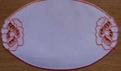 Oval Doilies AIH 6x10 - Designs 4 Africa | OregonPatchWorks