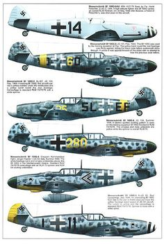Bf 109 G, G12 and K variants (7)