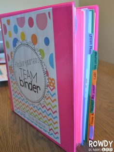 Great post on getting set up and organized for back to school with your planning binder!  Love this product, it has everything you need for back to school and more!