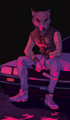 wafflability: Re-played Hotline Miami recently