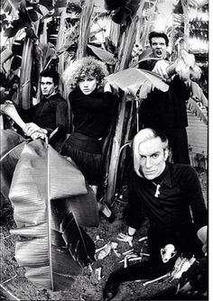 The cramps with lux interior & poison ivy