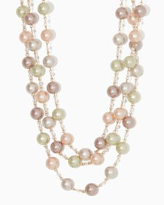 charming charlie | Raven Pearl Necklace | UPC: 400000069999 #charmingcharlie