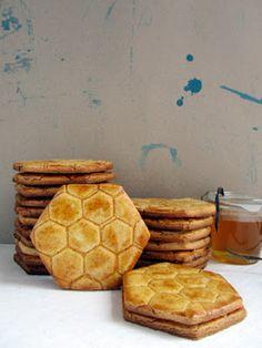 elcuadernodeideas: Galletas de miel                                                                                                                                                     Más