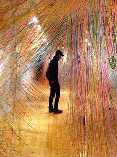 Installation Art by Tanya Aguiniga by sliafb