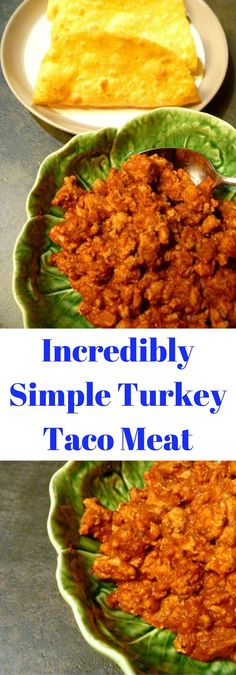 Incredibly Simple Turkey Taco Meat:  Juicy tender turkey tacos spiced up with bold Mexican flavors on the table in less then 30 minutes. - Slice of Southern