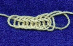 Bernard's nalbinding - good listing showing and comparing stitches