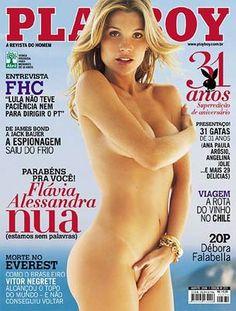 :::--- AREIAS NUAS ---::: Flávia Alessandra - Playboy (Agosto) 2006