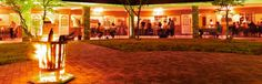 Dinner Atmosphere at Damara Mopane Lodge in Namibia