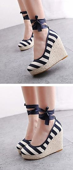 Stripe wedges