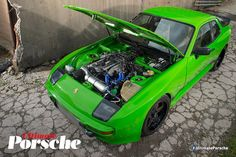 371bhp Porsche 944 with a turbocharged inline-five from an Audi S2.