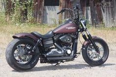 Wide tire FLH custom - Google Search