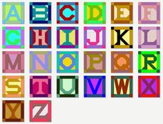 ABC's of Quilting (Alphabet Quilts)