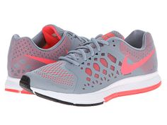 Nike Zoom Pegasus 31 Magnet Grey/Hyper Punch - Zappos.com Free Shipping BOTH Ways