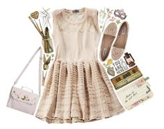 """Fairytale"" by delphinium-decorum ❤ liked on Polyvore featuring Disaster Designs, Dune, Pier 1 Imports, cute, dance, princess and fantasy"