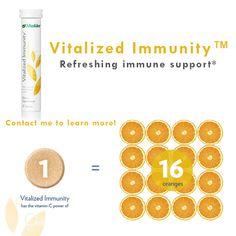 Vitalized ImmunityTM - Everyday immune support* #Shaklee #wellnesspedler #ShakleeEffect #immunesupport