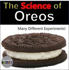 Oreo science is real science and includes hands-on activities that use the scientific method. Oreo experiments and activities.     https://www.teacherspayteachers.com/Product/The-Science-of-Oreo-Cookies-2903825