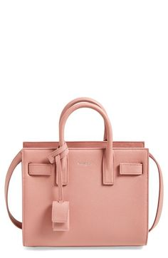 Saint Laurent 'Nano Sac de Jour' Calfskin Leather Tote available at #Nordstrom $1,990.00 	Item #1108135