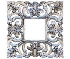 East West Design - DAPHNE Silver - 120x120 - Outdoor mirror