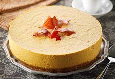 Gâteau #mousse à la #citrouille et aux #noix