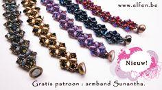 Elfenatelier - Sunantha Bracelet (free pattern)