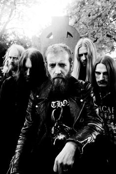 Nick Holmes (Paradise Lost) with Bloodbath #deathmetal