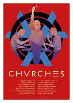 » Art Of The Year: 2013| CHVRCHES Gig Poster